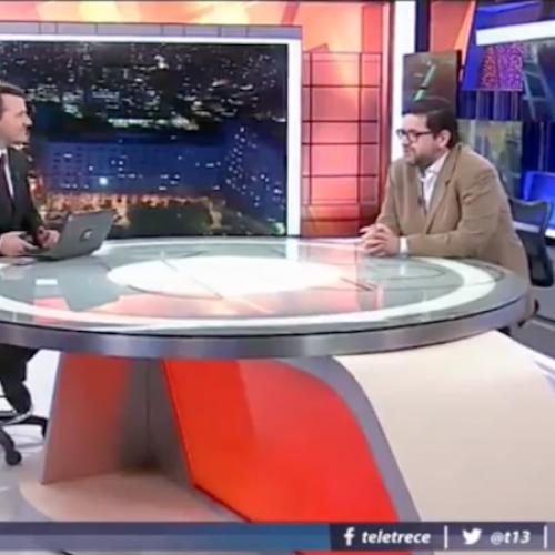 ENTREVISTA: Dr. Leiva en Tele13 Noche se refiere a contaminación en Quintero