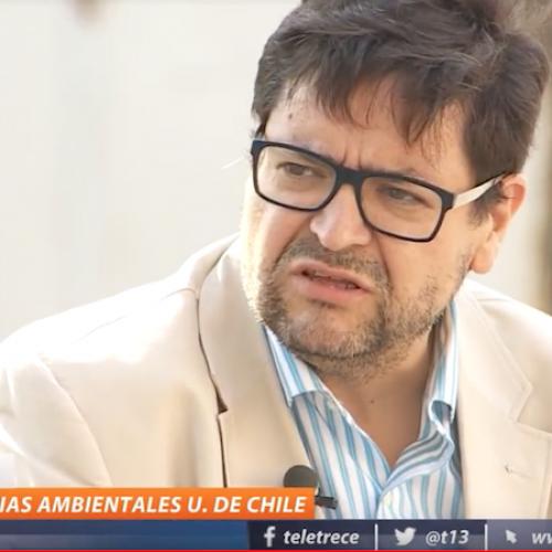 REPORTAJE T13 CENTRAL: Quintero: Norma chilena parece insuficiente